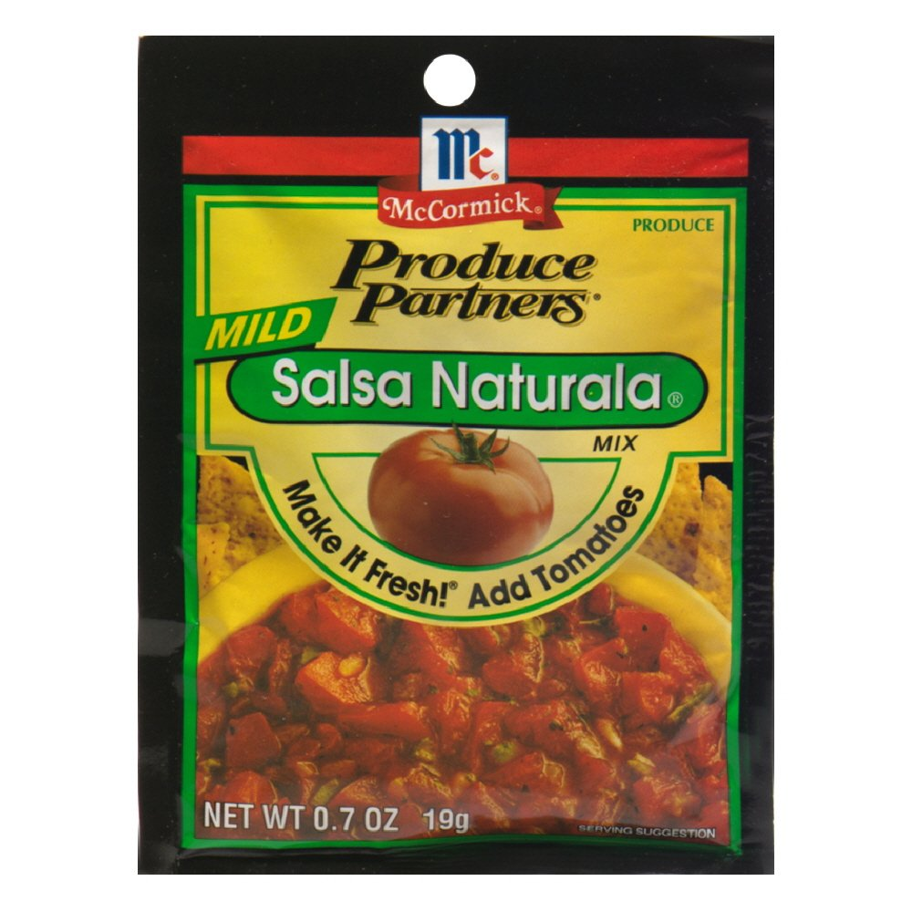 Amazon.com: Produce Partners Salsa Naturala Mix Mild, 0.7-Ounce (Pack of 12)