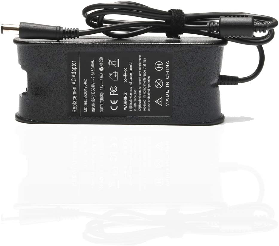 90W AC Adapter Laptop Charger for Dell Inspiron 17R N7110 N7010 5720 15 N5010 N5030 N5040 N5050 15 1564 15R 5537 15 M5010 M5030 Inspiron 1440 1464 1720 1750 1764 3421 3537 7537 7737 Power Supply Cord