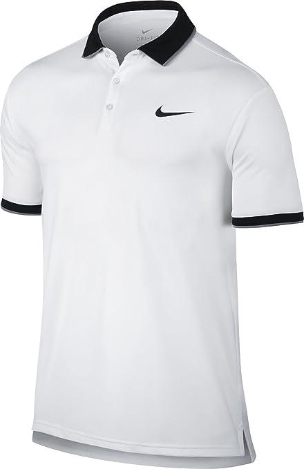 Nike 830849 100 Polo de Tennis Homme