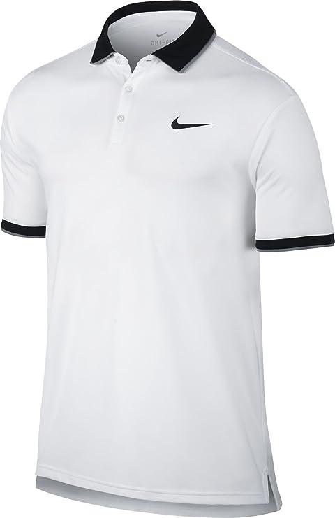 Nike M Nkct Dry Polo Team Camiseta de Manga Corta de Tenis, Hombre ...