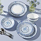 Corelle Service for 6 Chip Resistant Dinnerware