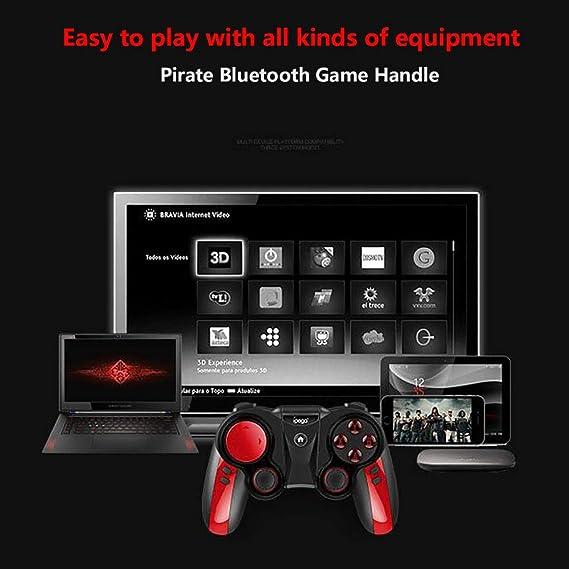 HLKYB Controlador de Gamepad móvil, botón Asignación Joysticks de Juegos para Smartphone/Tableta/Smart TV, decodificador/PC: Amazon.es: Hogar