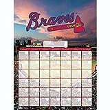 Lang Atlanta Braves Jumbo Dry Erase Sports Calendar