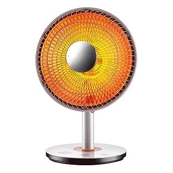 ZZHF Calentador, Mini hogar, Calentador eléctrico de bajo Consumo, sacudiendo la Cabeza, Ventilador eléctrico, Oficina, Ventilador eléctrico, Estufa para ...