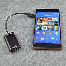 ATJC Micro USB MHL HDMI HDTV 1080p Video Audio Cable adapter with remote control for Sony Xperia Z5 premium Z1 Z2 Z3 Z Ultra Z3v Z4v Z3+ tablet Z3 compact HTC ONE M7 M9