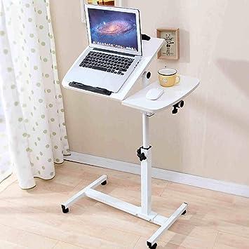 stts Lazy Table-Folding Table Ajustable Mesa de Ordenador portátil Sofá Mesa de Noche Mesa