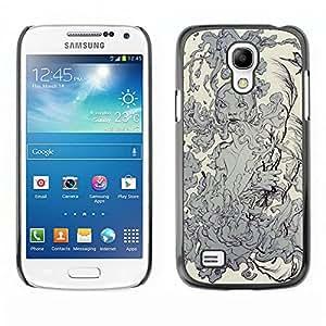 Shell-Star Art & Design plastique dur Coque de protection rigide pour Cas Case pour SAMSUNG Galaxy S4 mini VERSION! / i9190 / i9192 ( Water Nature Elements Earth Smoke Goddess )