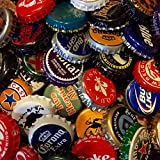 used beer caps - 100 Assorted Beer Bottle Caps, Bottle Cap Lot for Craft Supplies, Beer Bottle Cap Assortment, Beer Map Caps, Craft Bottle Caps