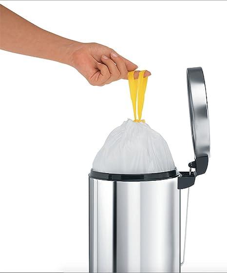 Brabantia 311727 - Bolsas de basura, código A, 3 l, 20 unidades: Amazon.es: Hogar
