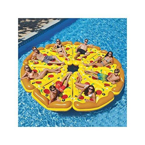 Colchoneta Hinchable Pizza Adventure Goods: Amazon.es: Deportes y aire libre