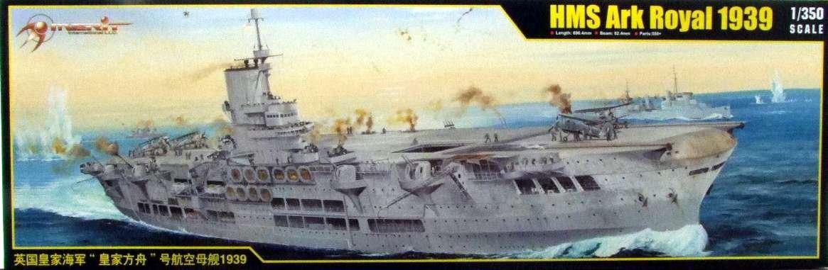 Merit 65307-Model Kit HMS Ark Royal 1939