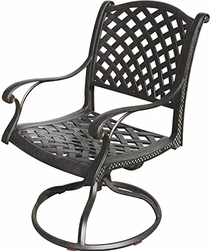 K B PATIO LD1031-11 Nassau Swivel Rocker Chair