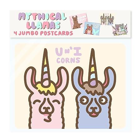 Amazon.com: Drama Llama gigante Jumbo tarjetas postales ...