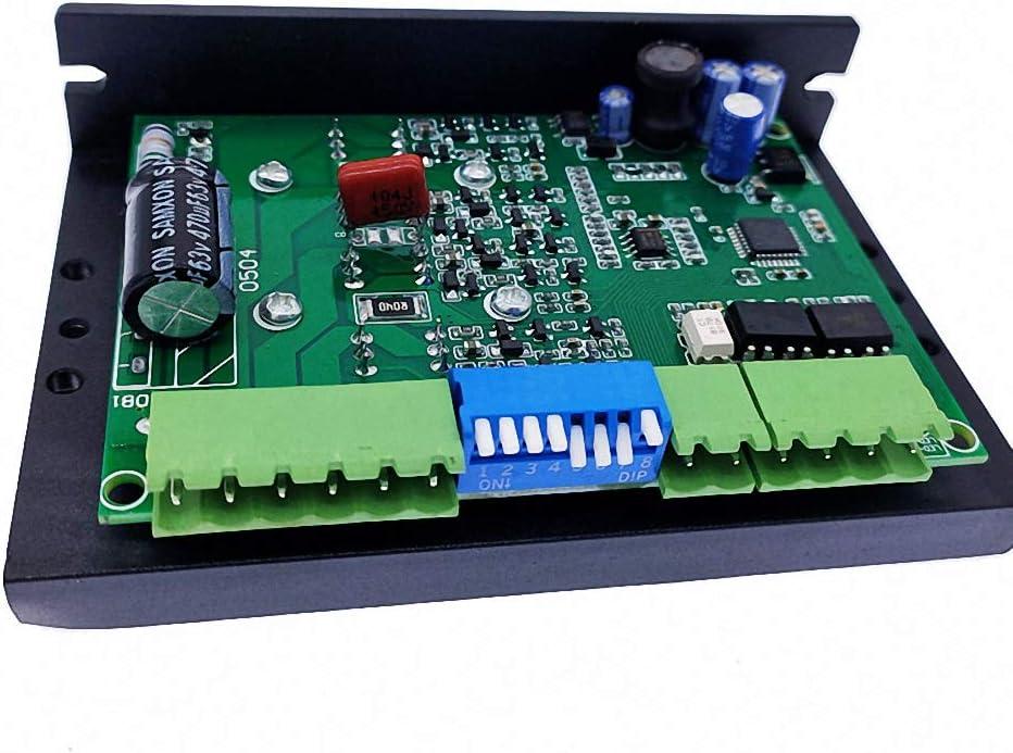 DM556 2-phase Stepper Motor Driver 42//57 Stepping Motor Controller 24V-50V DC8 Level Output Current Step Steeper Motor Driver