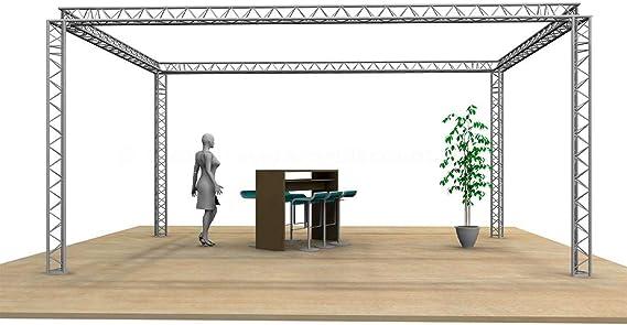 T220-3 - Soporte para ferias comerciales, diseño cuadrado, 6 x 4 x 3 m: Amazon.es: Instrumentos musicales