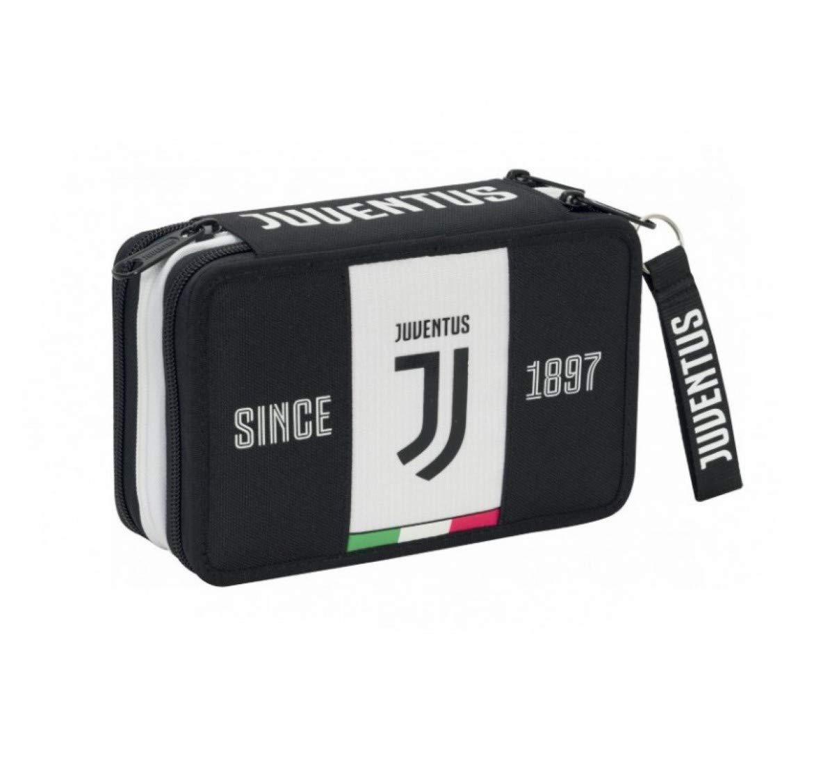 Astuccio 3 Zip Completo Di Cancelleria Juventus 2019-20 Licenza Ufficiale SEVEN SEVEN SPA F.C