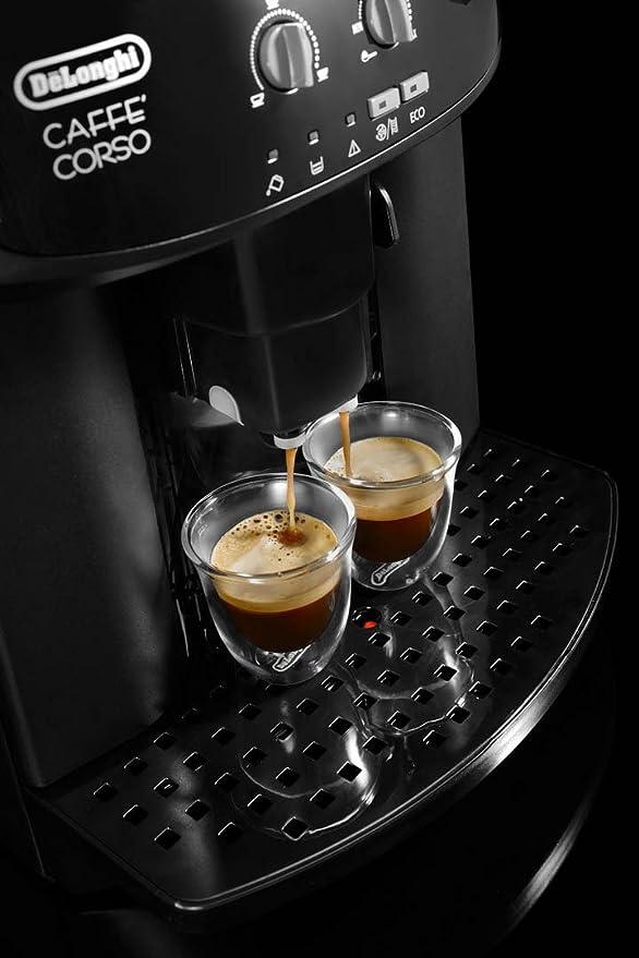 DeLonghi Magnifica ESAM 2600 - Máquina de café, granos de café, café molido, 1,8 l, 1450 W, color negro (Certified Refurbished): Amazon.es: Hogar