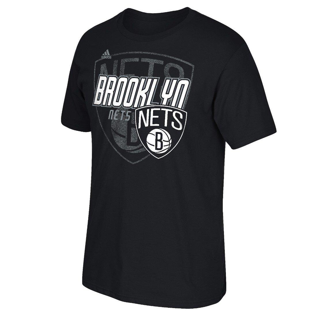NBAメンズDistressed Backロゴgo-to Tee Small Brooklyn Nets B0150T4Z2Y
