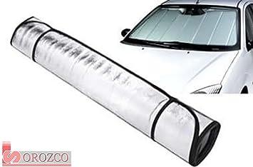 Parasol para parabrisas de coche calor / frio 150 x 70 cm.: Amazon ...