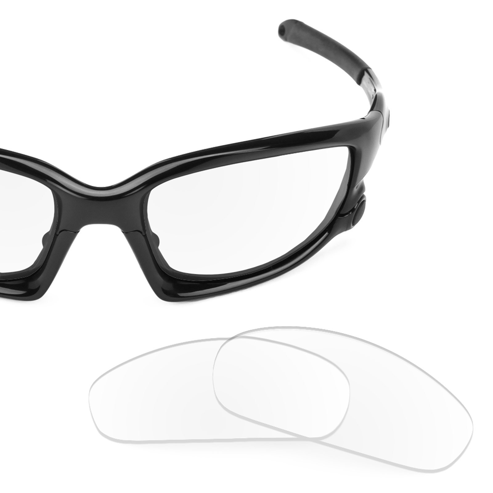 Revant Replacement Lenses for Oakley Split Jacket Crystal Clear