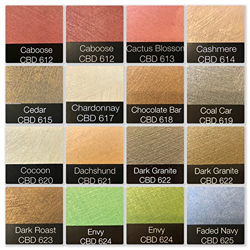 MOIRE WILD SILK ACRYLIC BASED DECORATIVE METALLIC PLASTER PAINT PRECOLORED ROLLER OR BRUSH APPLIED DECORATIVE FINISH THAT LOOKS FEELS LIKE SHIMMERING FINE SILK By Colors By Drew (GALLON) (CBDGAL) by MOIRE WILD SILK (Image #2)