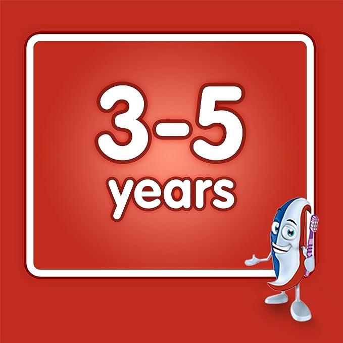 Aquafresh Poco De Pasta De Dientes Dientes 3-5 Años (50ml): Amazon.es: Hogar