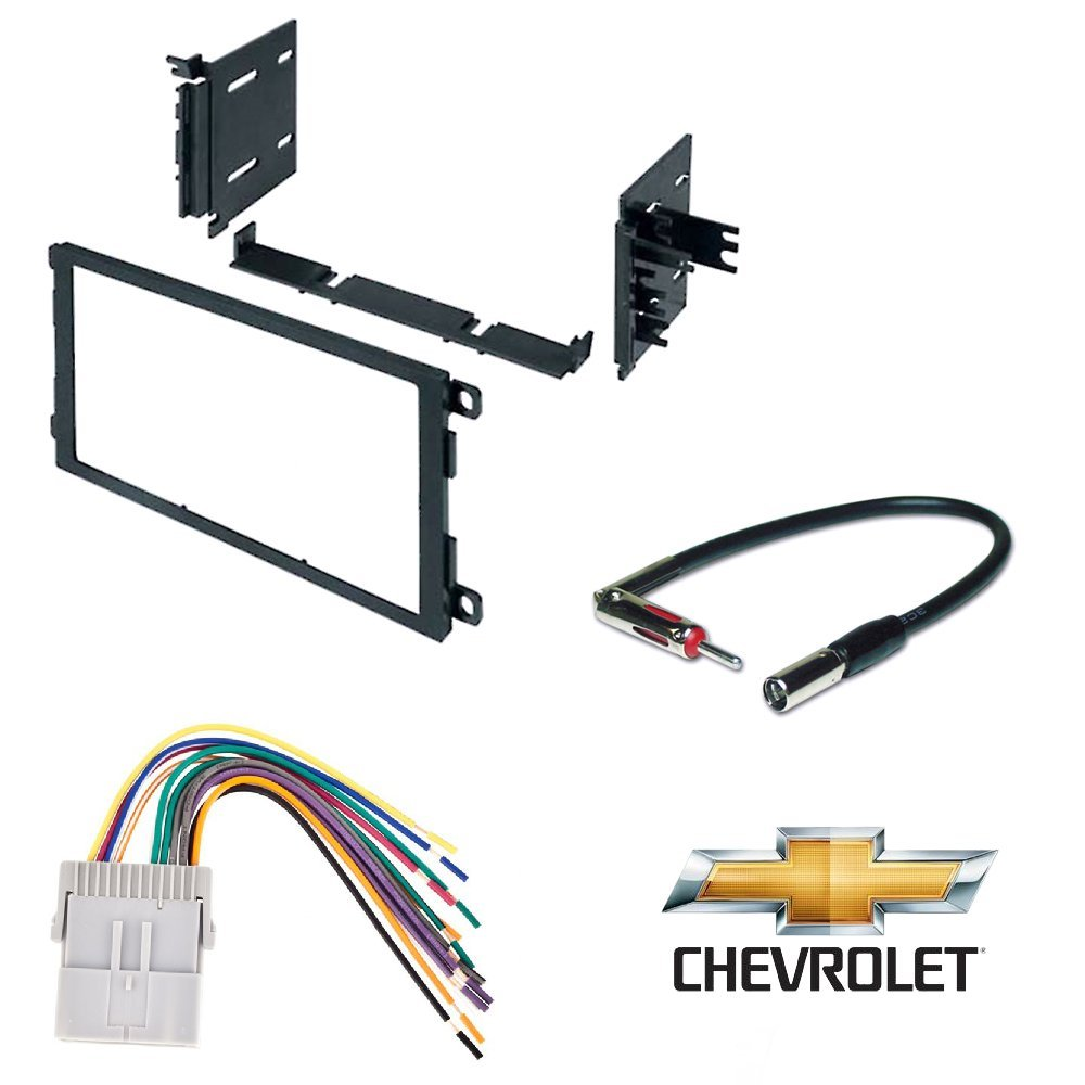 Chevrolet 2003-2006 Silverado 2500 HD CAR Radio Stereo CD Player Dash Install MOUNTING KIT Harness