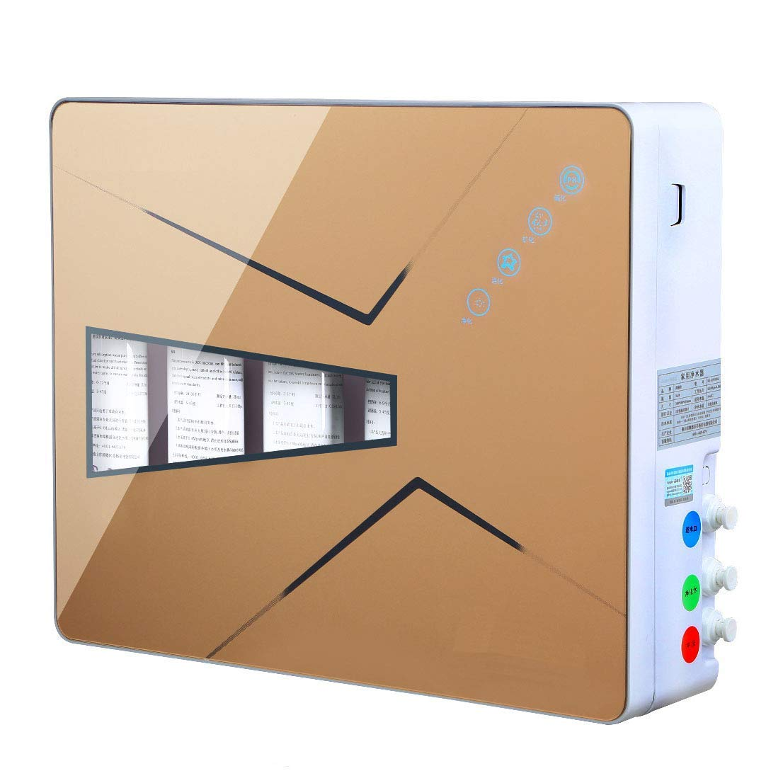 Oudan Haushalt 5 Level Ultrafiltration Wasserfilter (Farbe   -, -, -, Größe   -) 5b359b
