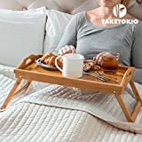 Home Treats ® Bamboo Lap Tray With Folding Legs