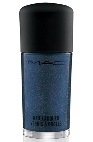 Amazon.com : MAC JEANIUS Collection Nail Lacquer BIKER BLUE : Nail ...