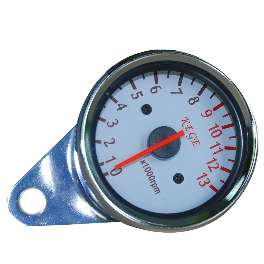 THG Motorcycle Tachometer Gauges For All Japanese British European ALL  YEARS 13000 RPM Universal Instrument: Amazon.co.uk: Car & Motorbike