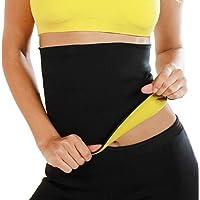 16c48efae9 GuGio Women s Hot Sweat Slimming Belt Shirt Waist Trainer Corset Tummy  Control Body Shaper for Weight