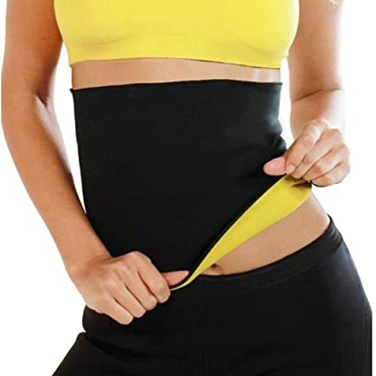 b8afde495c Image Unavailable. Image not available for. Color  GuGio Women s Hot Sweat  Slimming Belt Shirt Waist ...