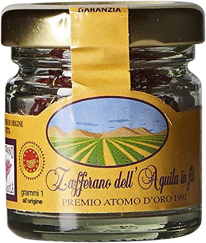 Saffron Threads DOP L'Aquila – Abruzzo, Italy - 1 g by Navelli