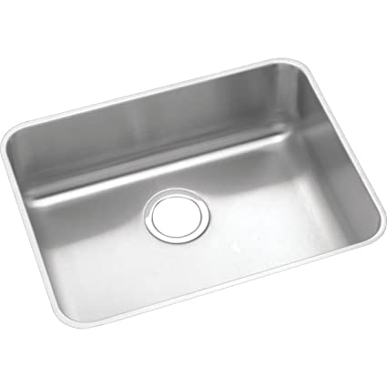 Elkay Lustertone ELUH2115 Single Bowl Undermount Stainless Steel ...