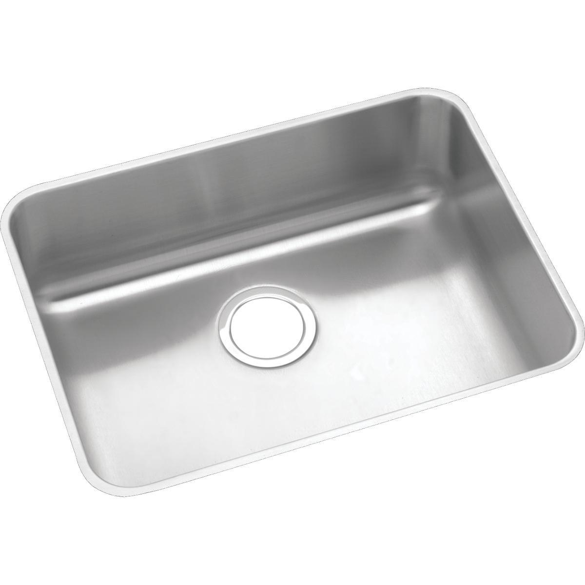 Elkay Lustertone ELUHAD211555 Single Bowl Undermount Stainless Steel ADA Sink