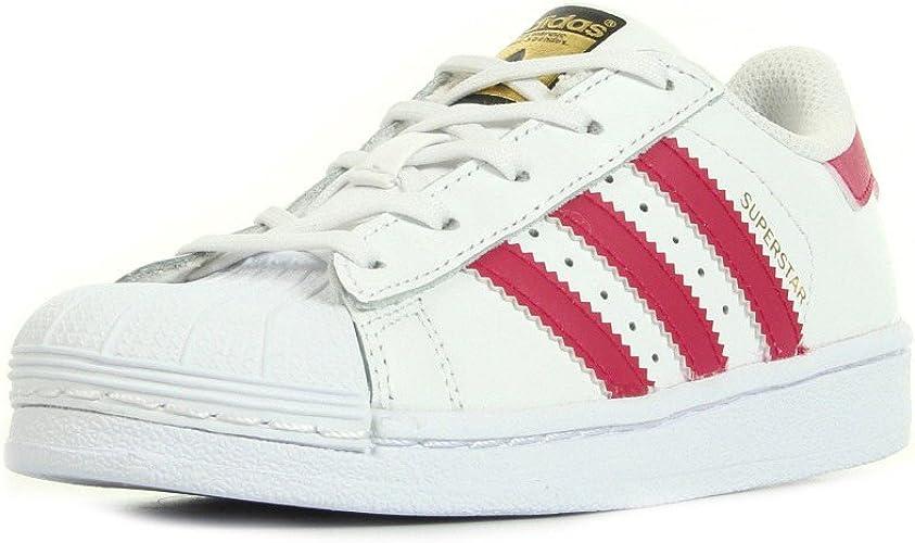 adidas Superstar C, Zapatillas de Baloncesto Unisex Niños: Amazon ...
