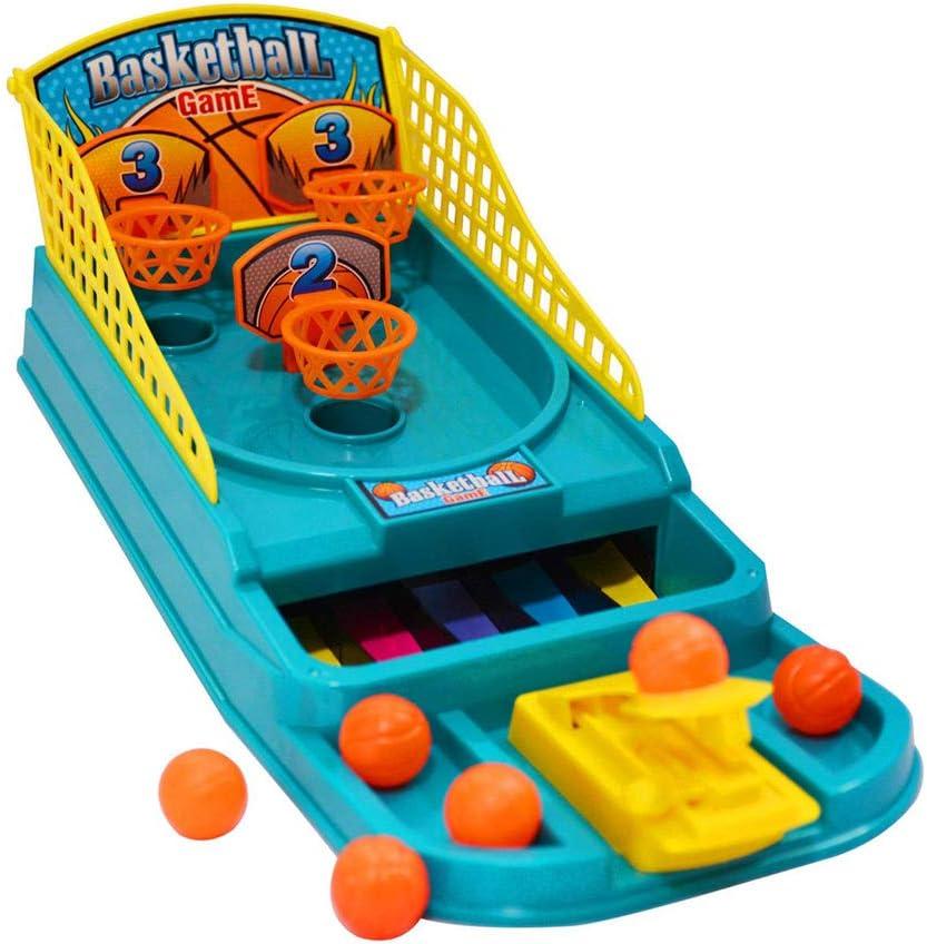 Mini Basketball Shooting Game Tabletop Office Desktop Game Christmas Gift Santa