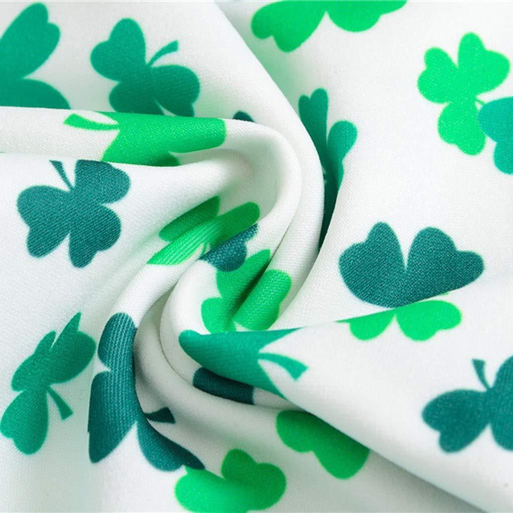 Amazon.com: Lanhui St.Patricks Day Shamrock - Pantalón para ...