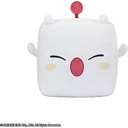Amazon.com: Final Fantasy Moogle Square Cushion Plush: Home ...