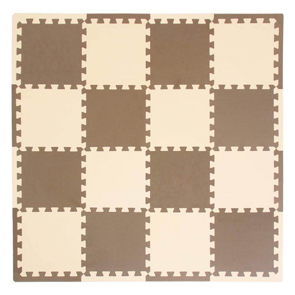 XMTMMD Suelo para Ninos Y Infantiles EVA Puzzle ColchonetaPara Ninos Y Infantiles EVA Puzzle Colchonetas Puzzle/Rompecabezas para Cubrir el Suelo (16 ...