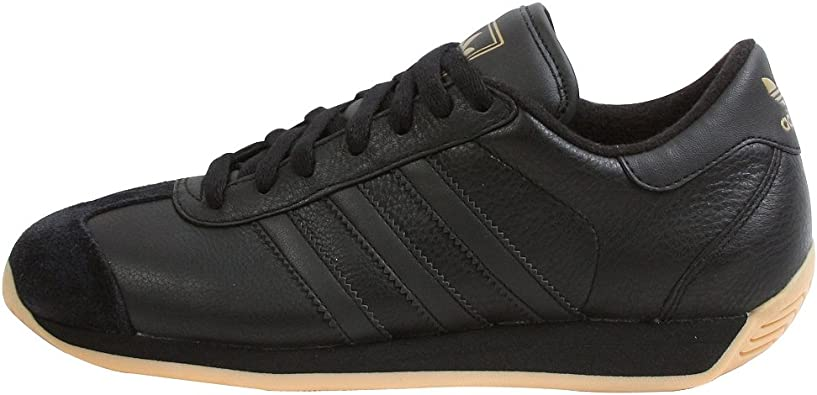 Amazon.com   adidas Originals Men's Country II Sneaker, Black ...