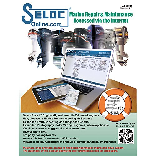 Seloc Online Engine Repair Manual with Cd