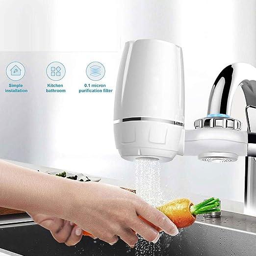Essendia - Filtro del Grifo de Cocina para Uso doméstico - Depurador del purificador del Agua para Uso