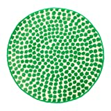 IKEA Flöng Rug Low Pile White Green