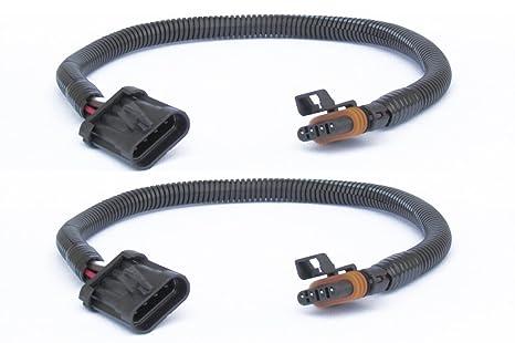 Amazon.com: Muzzys (Set of 2) Flat 4-Pin LT1, LS1, LS6 24 in. O2 02 on lt1 engine wiring, ls 5.3 swap alternator wiring, 95 camaro 5 7 ignition wiring, lt1 swap wiring diagram, 1996 roadmaster lt1 wiring,