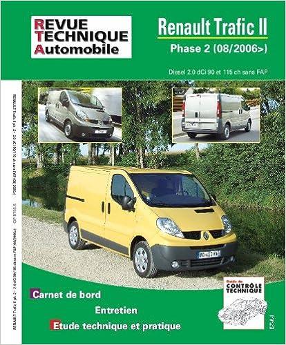 Revue Technique Renault Trafic diesel à partir de 2001