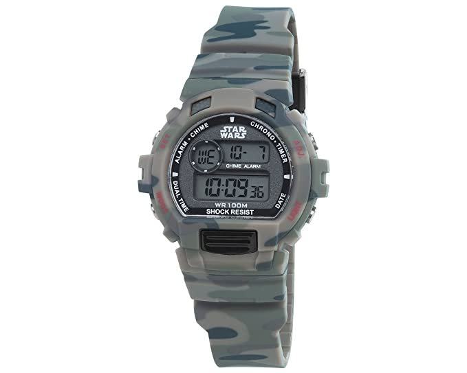 Star Wars camuflaje Digital niños reloj deportivo sp181-u438 por AM: PM: AM:PM: Amazon.es: Relojes
