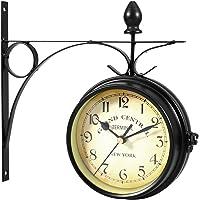 WINOMO Reloj de pared creativo clásico relojes