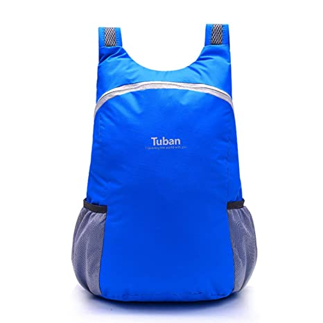 85745b352801 Foldable Waterproof Travel Backpack Bag, Ultra Lightweight Nylon Foldable  Daypack for Outdoor Jogging Hiking Camping